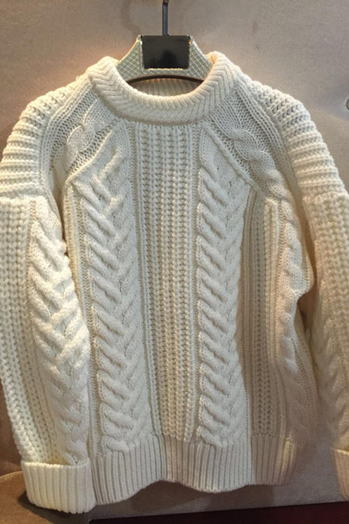 Round Neck Sweater Knitting Pattern : Free Knitting Patterns Promotion-Shop for Promotional Free Knitting Patterns ...