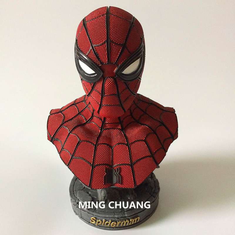 Statue The Amazing Spider-Man Bust Superhero Spider-Man Enemy Deadpool Head Portrait GK Action Figure Collectible Model Toy D304 серьги серьги серьги серьги серьги серьги серьги серьги серьги серьги серьги