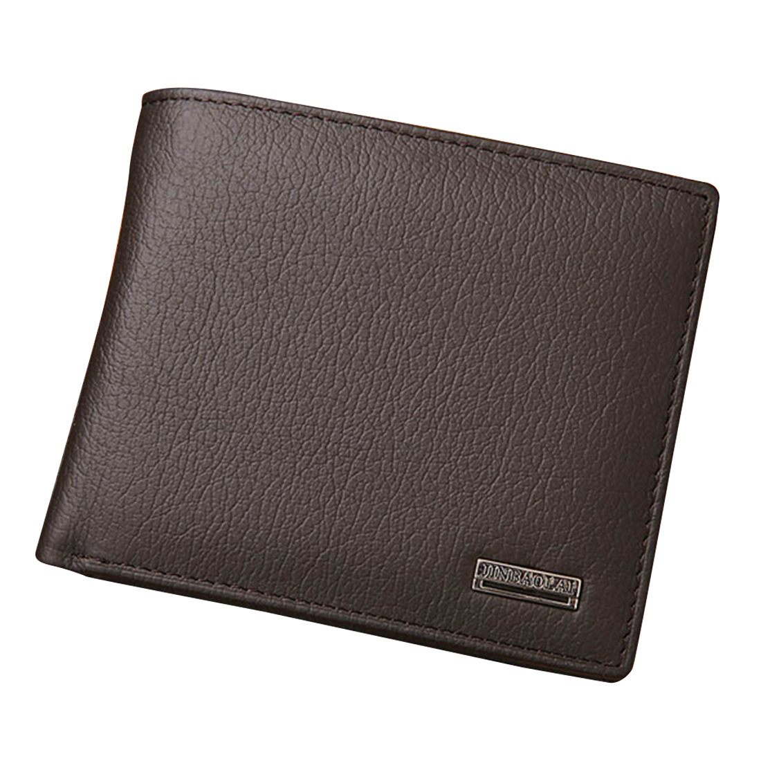 JINBAOLAI Small Short Leather Mens Wallet Male Wallet Bag Wallet Vallet Card Money Persian world Wallet