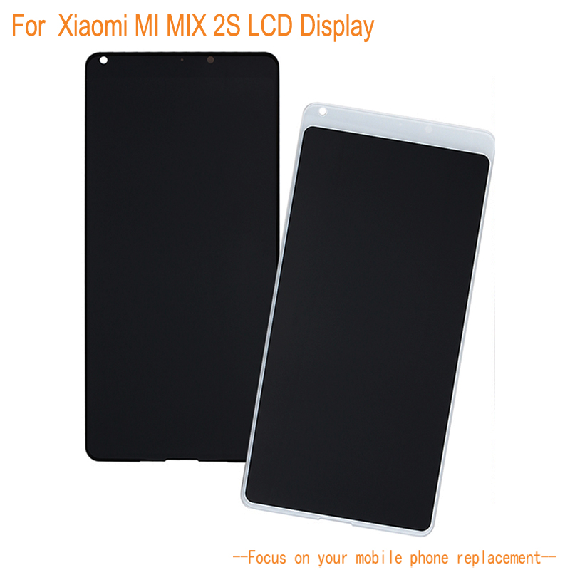 LCD Display For Xiaomi Mi Mix 2S +Touch Screen Digitizer Assembly Replacement Mobile Phone Accessories For Xiaomi Mi Mix 2S LCD