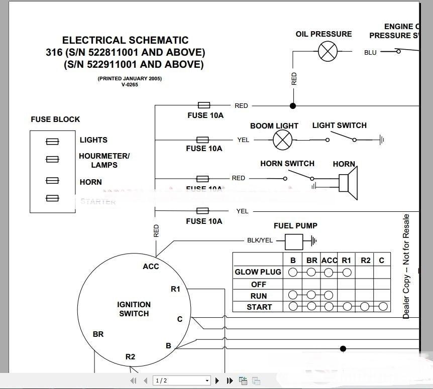 Großzügig Jcb Schaltplan Fotos - Elektrische Schaltplan-Ideen ...