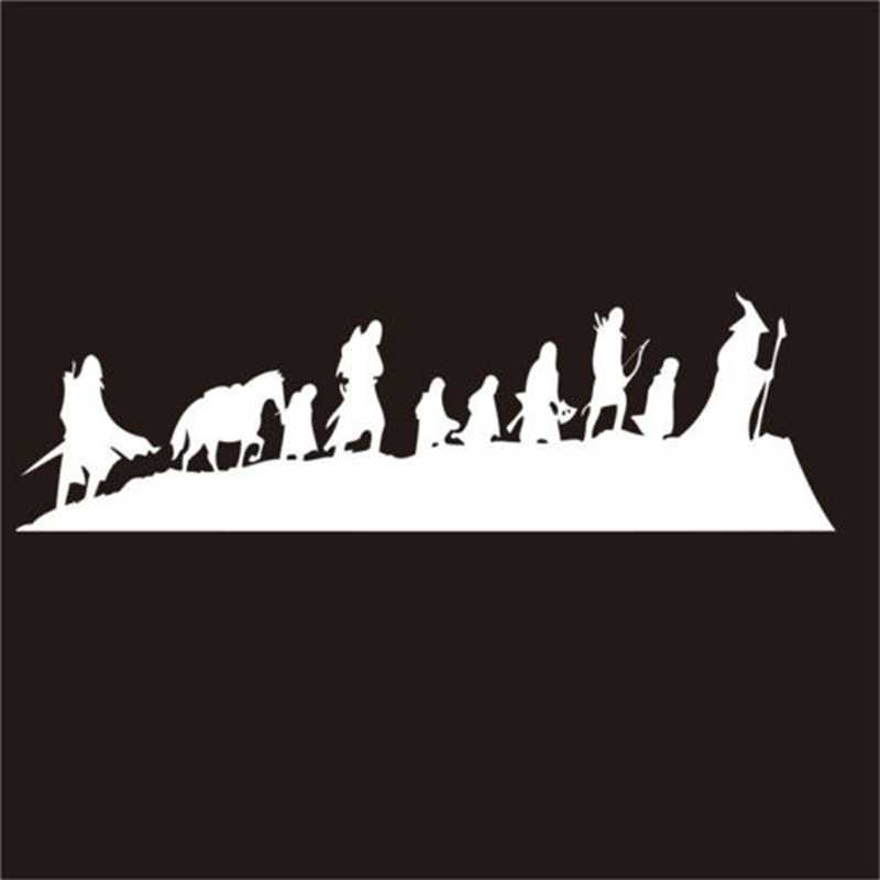 Free shipping The Lord of The Rings - Caravan - Vinyl Wall Decal Sticker , fantasy movie art cool car laptop wall decor