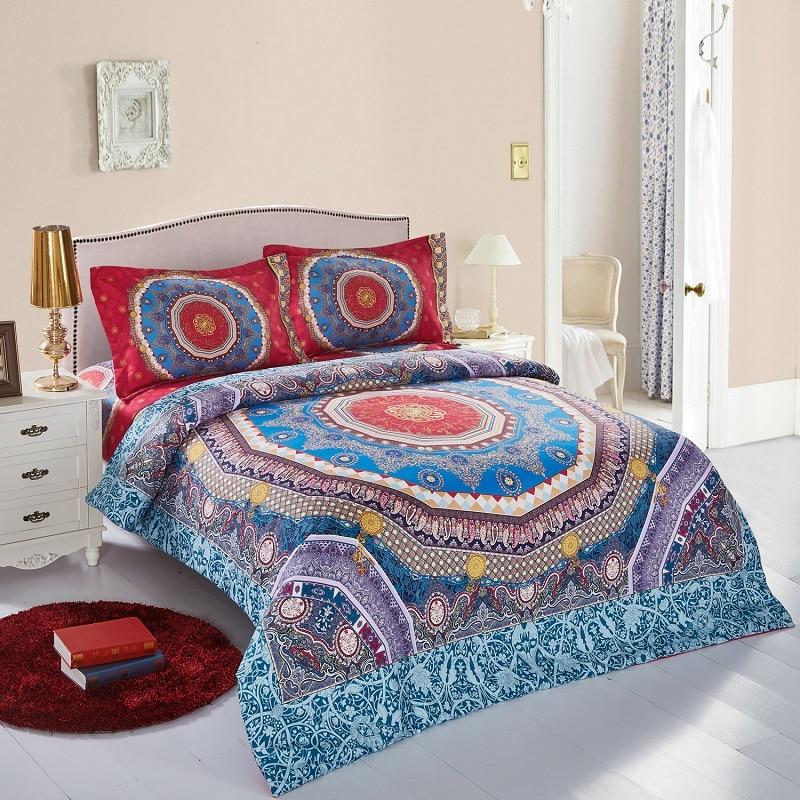 2016 Design New Home Textile Paturi 4pcs Paturi Queen Paturi Bohemian - Textile de uz casnic