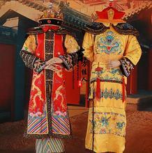Династия Цин император и костюм императрицы наборы для пары
