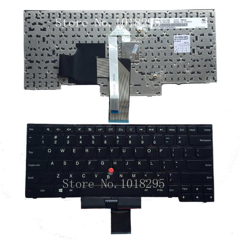 New US Laptop Keyboard for IBM Lenovo ThinkPad Edge E430 E435 E330 E430C E430S E445  E335 S430 Keyboard original laptop keyboard for ibm lenovo thinkpad t460p us keyboard 00ur395 free shipping