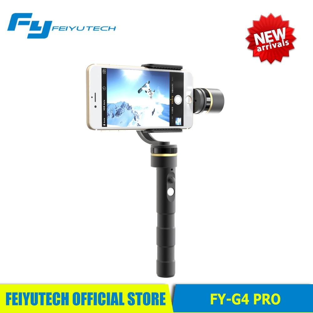 bilder für Feiyu Tech FY G4 pro 3 achsen brushless hand gimbal für smartphone iphone pk feiyu g4 pro zhiyun glatte c 2 für iphone 7