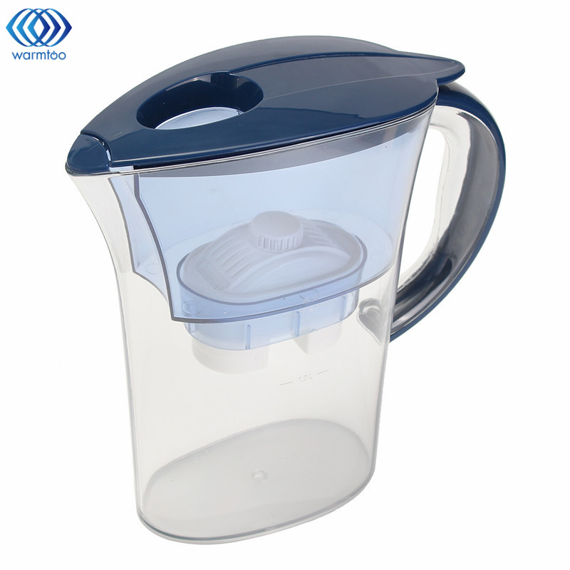 Water Purification Jug 2.5L Brita Water Filters Healthy Mineral Water Lonizer Alkaline Filtered Pot Household Kitchen
