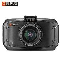 QUIDUX Super HD 1296P Car DVR Video Camera Recorder ADAS Warning Ambarella A7LA70 GPS Logger Camcorder