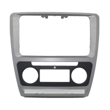 купить Fascias Automatic For 2013 Skoda Octavia Double 2 DIN ABS Car Refitting For DVD frame panel Dash Kit DVD Fascia Audio frame Kit по цене 1455.68 рублей