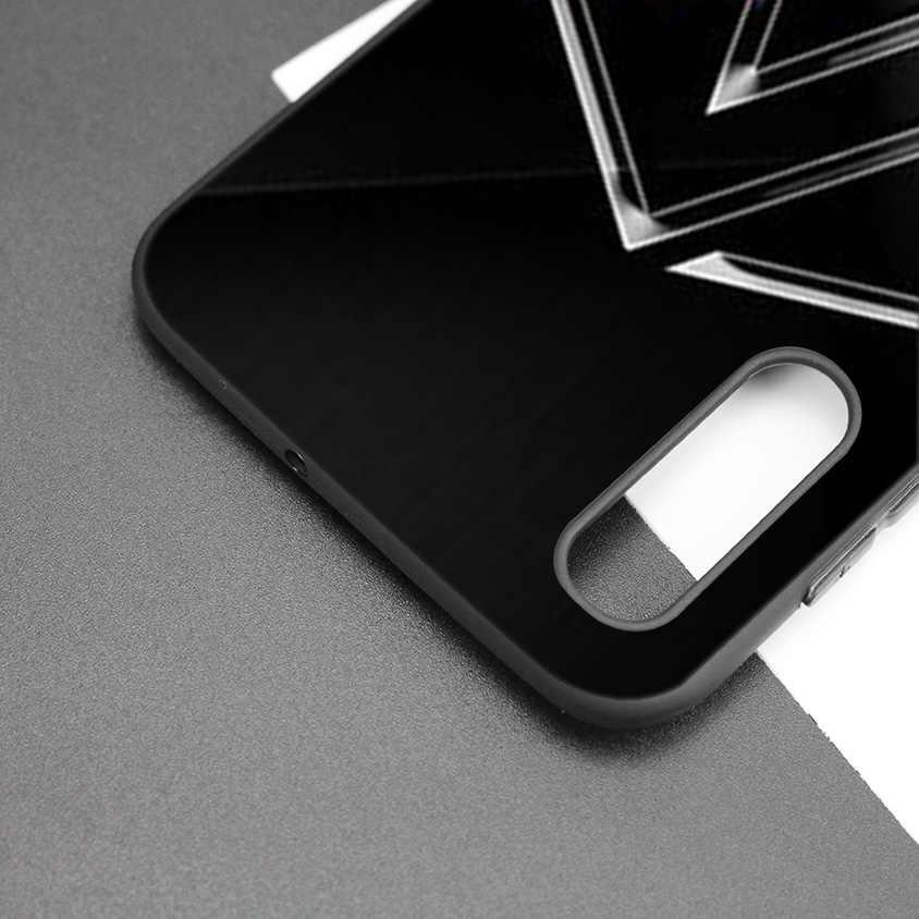 Noir Foncé Silicone étui pour samsung Galaxy A80 A70 A60 A50 A30 A10 A10E A10S M10 M20 M30 Housse Coque Coque Linkin Park
