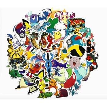 Pegatinas de Pokémon (45 pegatinas!) Merchandising de Pokémon