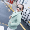 Baby girl clothes Bat Sleeved Autumn Winter Jacket girls Short Jacket Parka Down Coat Children Wadded Jacket Outerwear AA1928