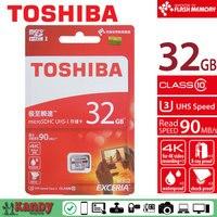 Toshiba Micro Sd Card M302 4K 32gb Memory Card Class 10 UHS U3 90MB Microsd Cartao