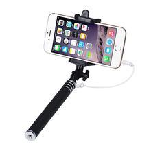 Универсальный проводной Selfie Стик Для Android Для iPhone 6 Для Samsung Для Xiaomi Телефон Монопод Selfie Пало Палочки Штатив Держатель ja20