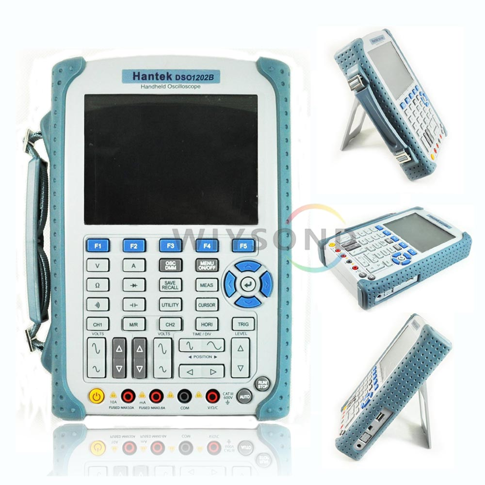 O055 HANTEK DSO1202B 200MHz 1GS/s 2 Channels 2 in 1 Oscilloscope Scopemeter & Digital Multimeter by EXPRESS SHIPPING (EMS / DHL) осциллограф dhl hantek mso5102d 100 1gs s 16 2