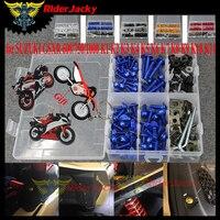 for SUZUKI GSXR 600/750/1000 K1 K2 K3 K4 K5 K6 K7 K8 K9 K10 K11 Motorcycle Fairing Bolts Nuts Fastener Clips Body Spring Screws
