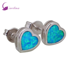Ocean Melody 18K gold plated Deep Blue Cubic Zirconia stones dangle earring  fashion jewelry E090 extremely attractive dangling earring blue green and clear oval cut stones of cubic zirconia big round dangle pendant earrings