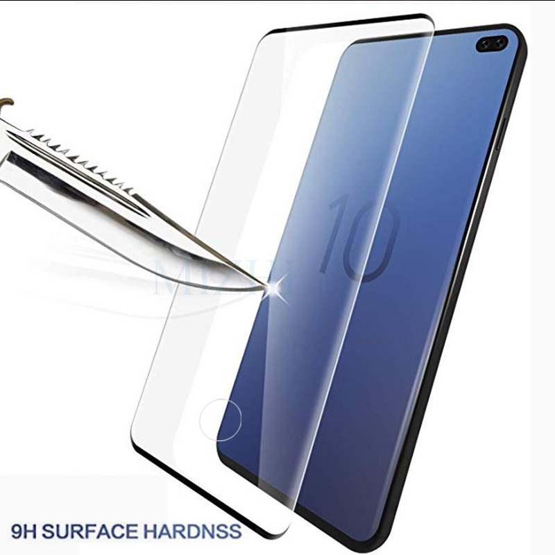 Image 3 - Protective glass on for Samsung s10e s10 plus for galaxy s9 s8 tempered glas s 10 e 9 8 s10plus samsong gelaksi screenprotector-in Phone Screen Protectors from Cellphones & Telecommunications