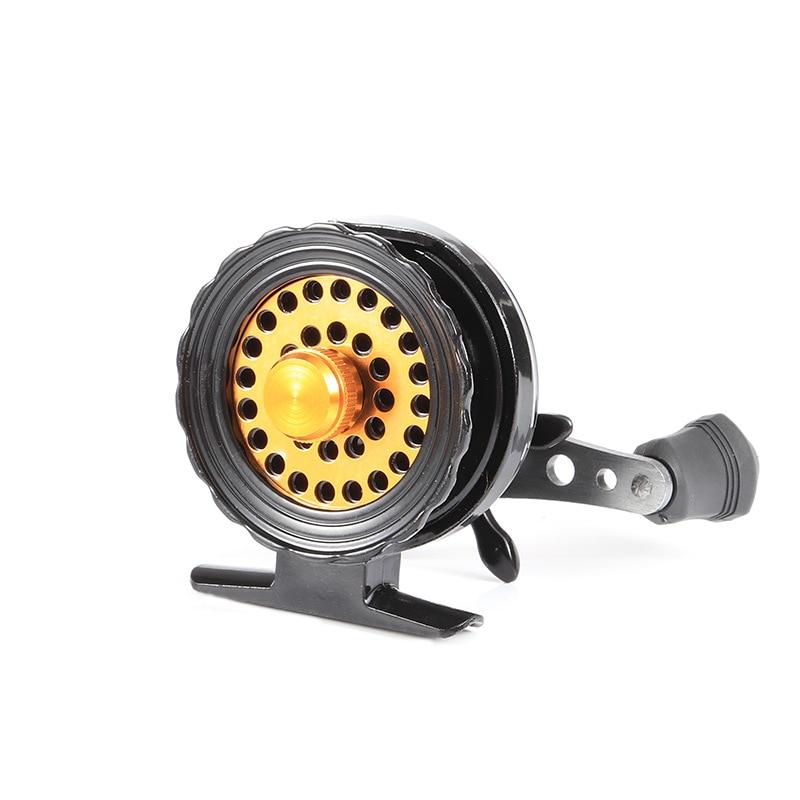 Hot Sales Full Metal Aluminum Ultra light Former Ice Wheel Fly Fishing Reel Right Left Handed
