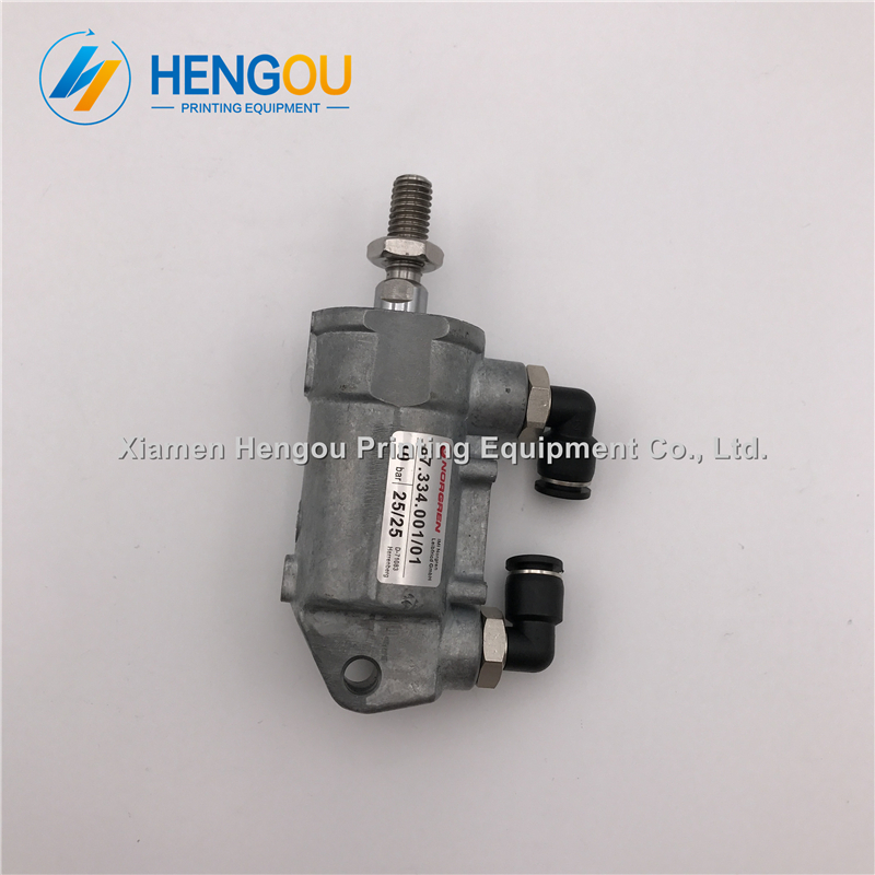 5 pieces free shipping Heidelberg machine pneumatic cylinder 87.334.001 D25 H25 heidelberg printing machine parts 20 pieces free shipping heidelberg printing machine spare parts feeder wheel size 60 8mm