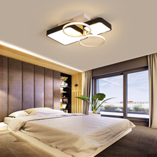 Remote Modern LED Ceiling Lights Fixture For Bedroom Dining Room Acrylic Lampshade Dimmable For 15-25 Meters Lamparas De Techo цена в Москве и Питере