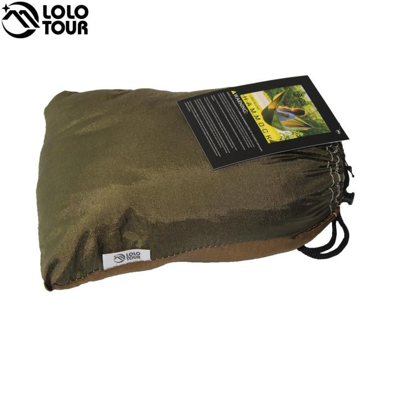 24 Color 2 People Portable Parachute Hammock 5