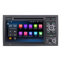 7 8 Core Android 8.0 Car Radio For AUDI A4 2002 2007 Car Stereo RAM 4GB Car Audio ROM 32GB Multimedia Player Wtithout DVD