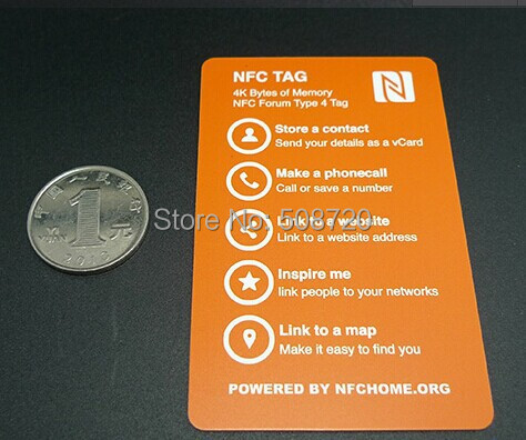 Nfc business card 4k create your own nfc business card work with nfc business card 4k create your own nfc business card work with samsung s4nexus 5nexus410 all nfc device in access control cards from security reheart Choice Image