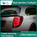 Car Styling Tail Lamp for Chevrolet Captiva 2013 Tail Lights LED Tail Light Rear Lamp LED DRL+Brake+Park+Signal Stop Lamp