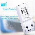 Sonoff Itead Inteligente WiFi Inalámbrico de Casa Inteligente Interruptor DIY 433mzh Módulos de rf Para MQTT COAP Android IOS Wifi Control Remoto