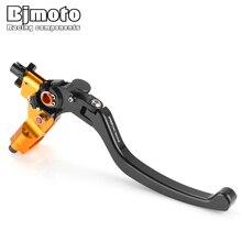 BJMOTO 1PCS Motorbike Street Sport Bike Brake Cable Clutch Handle Levers for Motorcycles 7/8 22mm handlebar