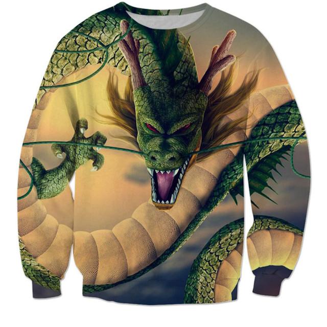Dragon Ball 3D Sweatshirts (4 types)