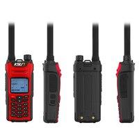 מכשיר הקשר KSUN X-UV68D (MAX) מכשיר הקשר 8W צריכת חשמל גבוהה Dual Band כף יד שני הדרך Ham Radio Communicator HF משדר חובב Handy (3)
