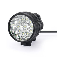 ISHOWTIENDA Flashlight For Bicycle Frame 28000LM 11 x CREE XM L T6 LED 6 x 18650 Bicycle Cycling Light Waterproof Lamp Front