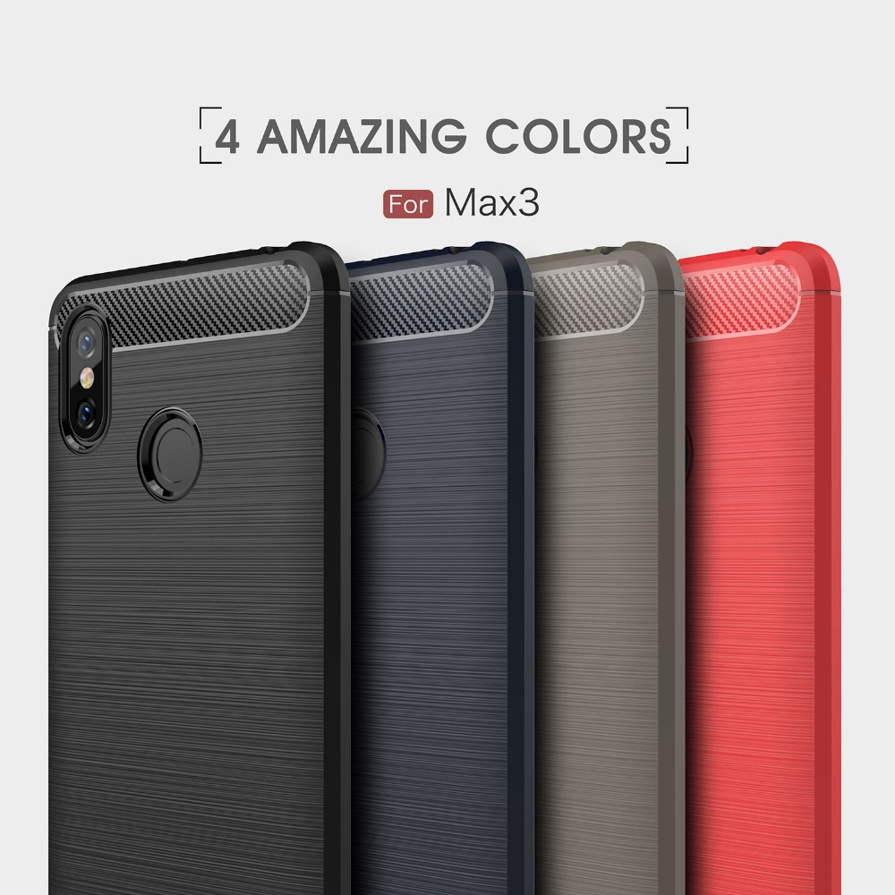 UTOPER Case For Xiaomi <font><b>Mi</b></font> Max 3 Case Carbon Fiber Cover For Xiomi Xiaom <font><b>mi</b></font> Max 2 Case For <font><b>Xaomi</b></font> <font><b>Mi</b></font> <font><b>Max2</b></font> Max3 Max Mix 2S Fundas image