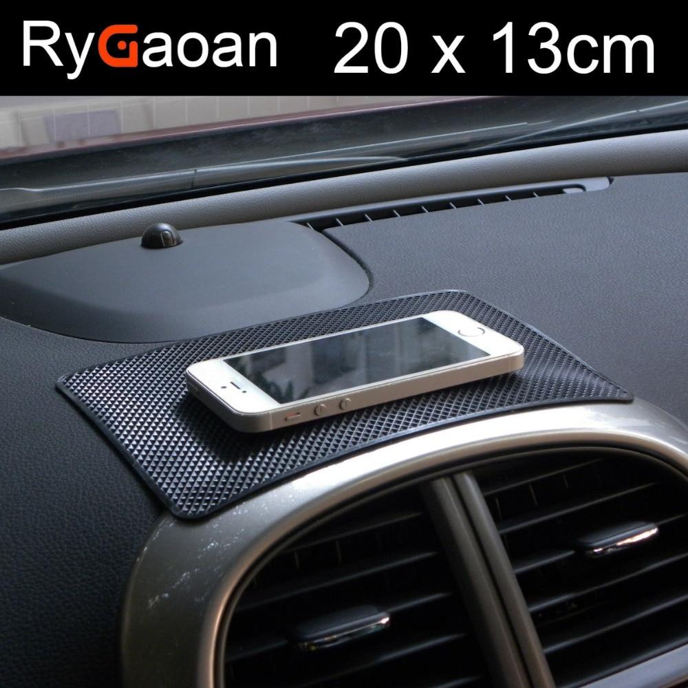 RyGaoan Universal 20x13 cm Painel Do Carro Magia Anti Slip Mat - Acessórios interiores do carro