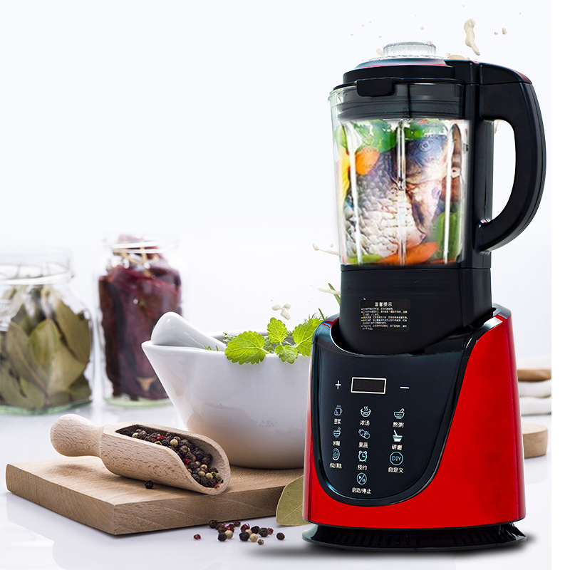 Household 220V Electric Food Blender 48000RPM Cell Wall Breaking Mixer 2L Capacity 800W Heating Food Process