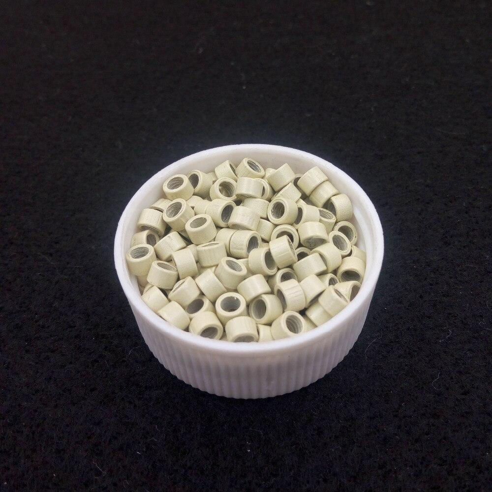 1000pcs 4.0mm Aluminium Micro Ringar Pärlor Länkar med - Hårvård och styling - Foto 6