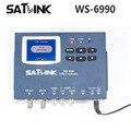[Genuine] satlink medidor ws-6990 1 rota modulador dvb-t/av/hdmi terrestre ws6990 finder medidor satlink 6990