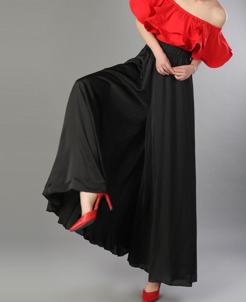3d60886fafb9 Jambe Occasionnels 2018 Lâche Élastique D été Haute Nouvelle Realshe Mode  Pantalon Taille Fitness Pantalons Femmes Large g6xIw5