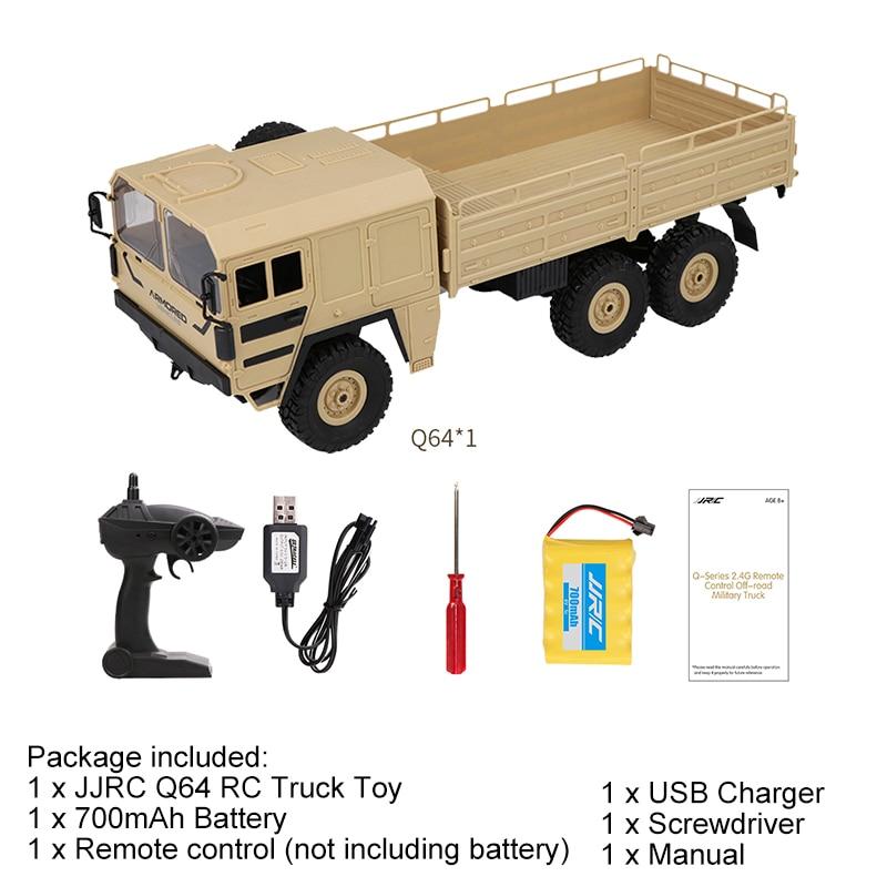 الوعرة العسكرية JJRC 2.4G 16