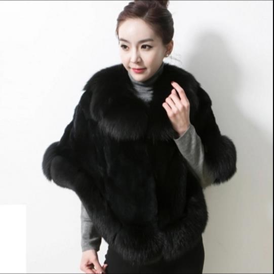 Oversize De Faux Veste 2019 D'hiver Clobee Femmes Femme Outwear Q927 Fourrure Furry Artificielle Manteau Chaud qIPZwt