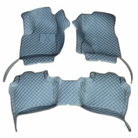 Custom car floor mats for 2007 10 Volkswagen Touareg Better match with the leather interior of the original car easy clean