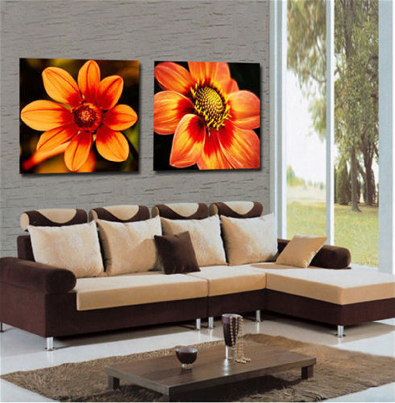 Sunflower Wall Art compare prices on sunflowers wall art- online shopping/buy low