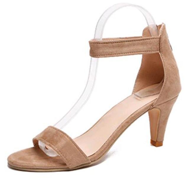 b8fb0da15 Stylové dámské sandály na podpatku – UrbanTrend™