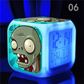 Hot pvz toys hobbies plants vs zombies pokemon go cartoon games action figure LED lightclock kids toys hot sale classic toys