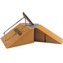 Abbyfrank Fingerboard Skatepark Sets Educational Intelligent Toy For  Children Adult Mini Finger Board Finger Skateboard Desk Toy