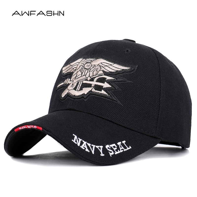 2019 NEW High Quality Mens US NAVY   Baseball     Cap   Navy Seals   Cap   Tactical Army   Cap   Trucker Gorras Snapback Hat For Adult