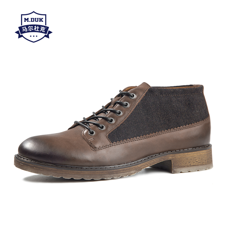 Здесь можно купить  real leather martin boots men low lace-up short boots mens boots chelsea fashion shoes autumn winter cowhide cowboy boots male  Обувь
