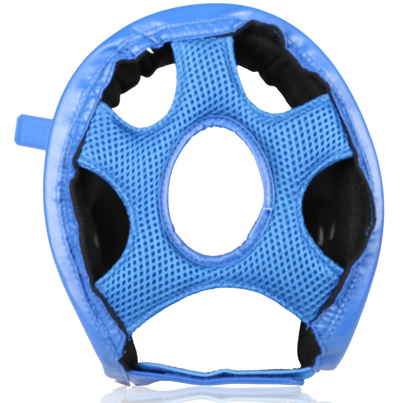 Hot koop bokshelm Rood blauw volwassen Kinderen kickboksen vechten - Sportkleding en accessoires - Foto 4